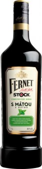 Fernet Stock s mátou 1l