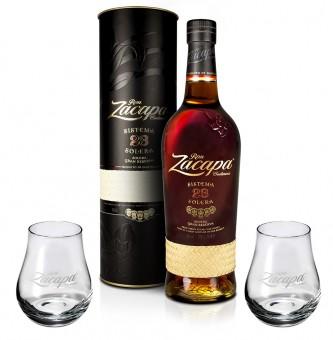Ron Zacapa Centenario 23 Aňos 0,7l + 2x sklenička