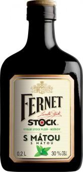 Fernet Stock s mátou 0,2l