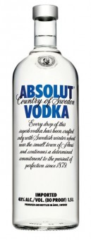 Absolut vodka 1,5l