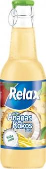 Relax ananas - kokos 0,25l sklo
