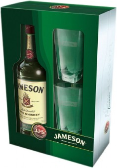 Jameson 0,7l - kazeta 2 skleničky