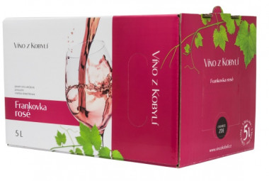 Frankovka rosé 5l box - Patria Kobylí