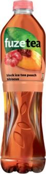 Fuze Tea Black Ice Tea Peach Hibiscus 1,5l - PET