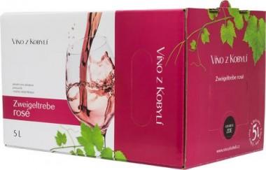 Zweigeltrebe rosé 5l box - Patria Kobylí