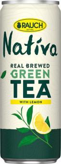 Rauch NATIVA zelený čaj s citronem 0,33l - plech