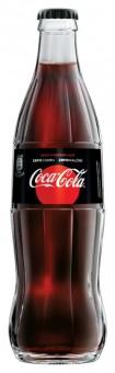 Coca cola ZERO 0,33l sklo