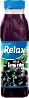 Relax černý rybíz 0,3l PET