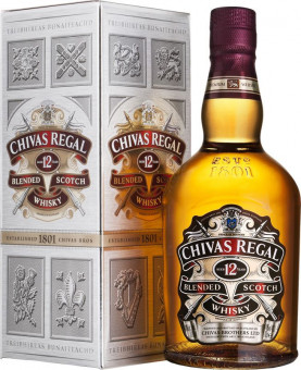 Chivas Regal 12 let 0,7l - kartonek