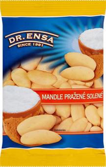Mandle pražené solené 60g Dr.Ensa