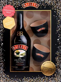 Baileys Irish Cream 0,7l - kazeta 2x hrnek