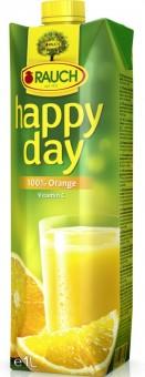 Rauch Happy Day pomeranč 100% 1l