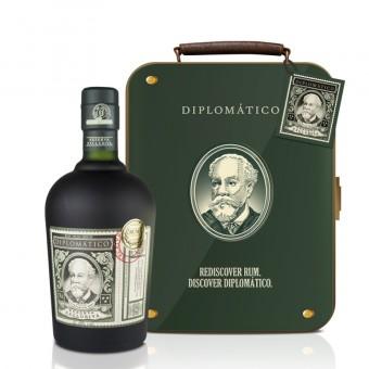 Diplomático Reserva Exklusiva 0,7l - Suitcase