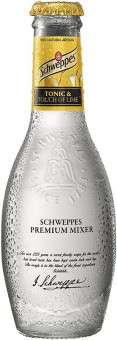 Schweppes Premium Tonic & touch of lime 0,2l sklo