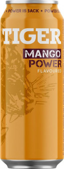 Tiger mango energy 0,5l plech