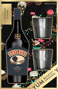 Baileys Irish Cream 0,7l - kazeta 2x sklenička