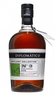 Diplomático Distillery Collection No.3 Pot Still Rum 0,7l