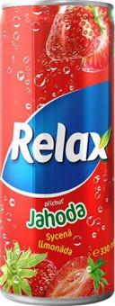 Relax Limonáda Jahoda 0,33l plech