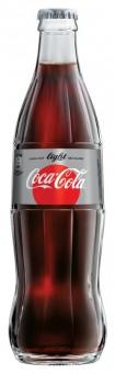 Coca cola light 0,33l sklo - vratná lahev