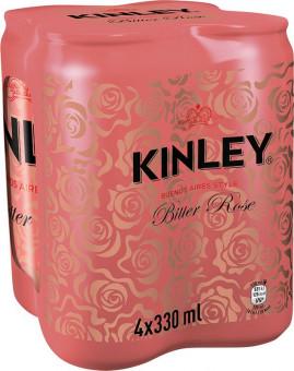 Kinley Bitter rose 4 x 0,33l multipack - plech