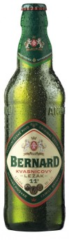 Bernard Kvasnicový světlý ležák 0,5l - vratná lahev