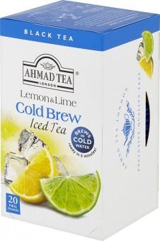 Ahmad Tea Cold Brew Lemon & Lime 20x2g