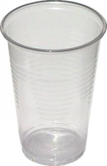 Kelímek plastový transparentní 0,2l - 100 ks