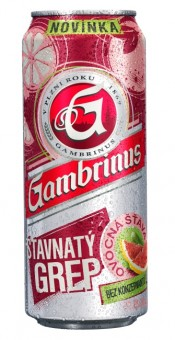 Gambrinus Šťavnatý grep 0,5l - plech