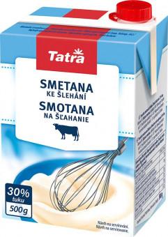 Smetana na šlehání 30% Tatra 500ml