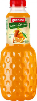 Granini pomeranč, mrkev, citron 1l - PET