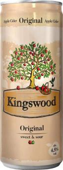 Kingswood original apple cider 0,33l plech