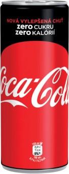 Coca cola ZERO 0,25l - plech