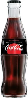 Coca cola ZERO 0,2l - sklo - vratná lahev