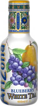 AriZona Whitte tea Blueberry 0,45l - PET