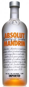 Absolut vodka Mandrin 0,7l