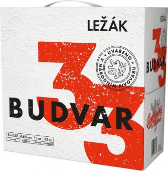 Budweiser Budvar 33 světlý ležák multipack 8x0,5l