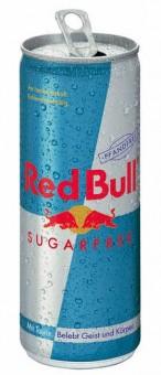 Red Bull bez cukru 0,25l plech