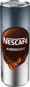 Nescafe ice černé 0,25l - plech