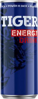 Tiger energy 0,25l plech