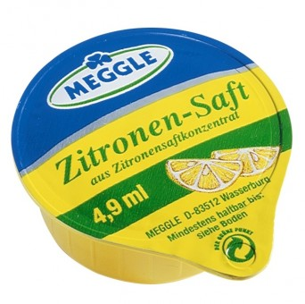 Citrónová šťáva Meggle 4,9ml/120ks