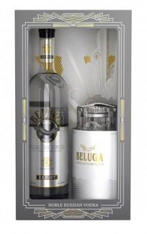 Beluga Noble Vodka Caviar dish Box 0.7l