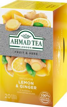Ahmad Tea Citron a zázvor 20x2g