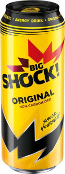 Big Shock Original neperlivý 0,5l plech