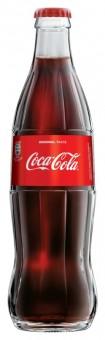 Coca cola 0,33l sklo - vratná lahev