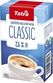 Tatra Classic zahuštěné mléko neslazené 7,5% 250g