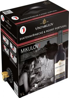 Svatovavřinecké & Modrý Portugal 3l box - Mikulov