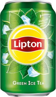 Lipton Ice Tea - Green Tea 0,33l - plech