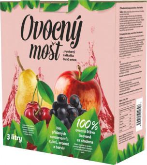 Mošt ovocný 100% 3l