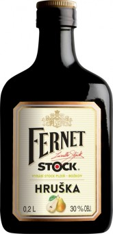 Fernet Stock s hruškou 0,2l