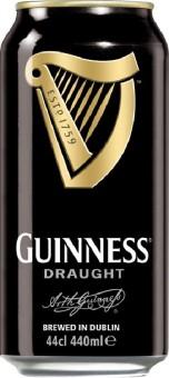 Guinness Stout Draught 0,44l plech